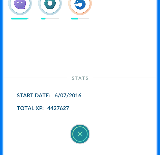 Trainer Stats - Poke Assistant